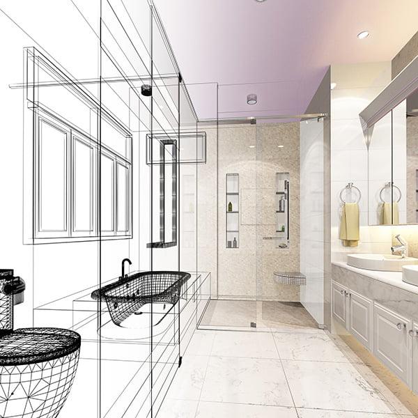 Faites le choix de travaux d'aménagement intérieur bien organisés avec Elégance au m2