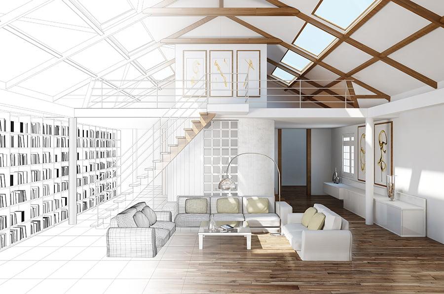 Quel tarif pour faire une demande de permis de construire par un architecte d'Elégance au m2 ?