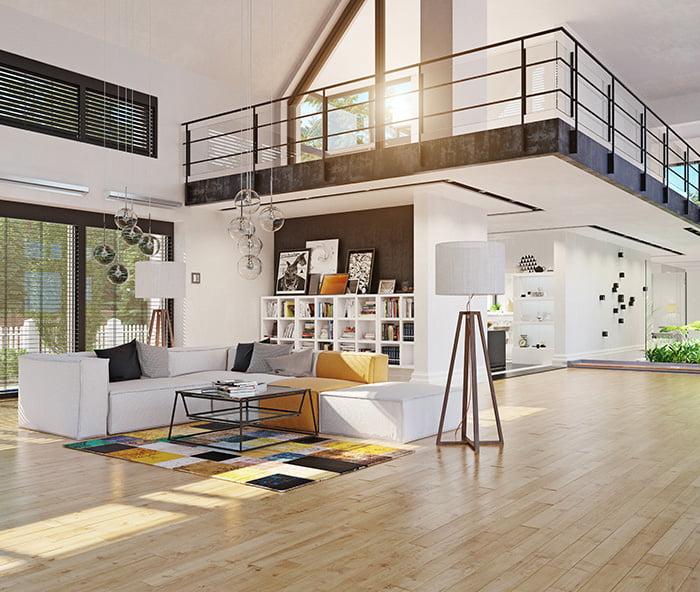 Elégance au m2 conçoit pour vous des espaces structurés et optimisés pour votre aménagement intérieur.