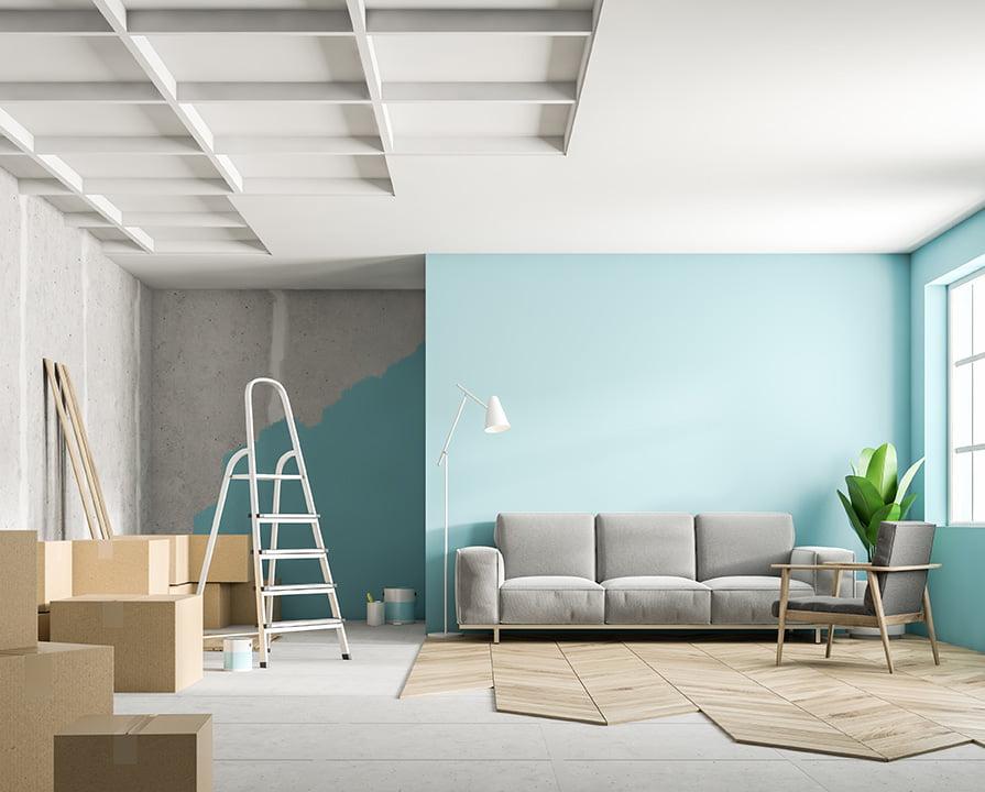 Vos travaux d'aménagement intérieur avec notre agence d'architecture Elégance au m2