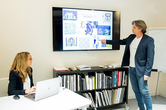 L'équipe d'architectes d'intérieur Elégance au m2 se tient à votre disposition pour votre projet d'agencement !