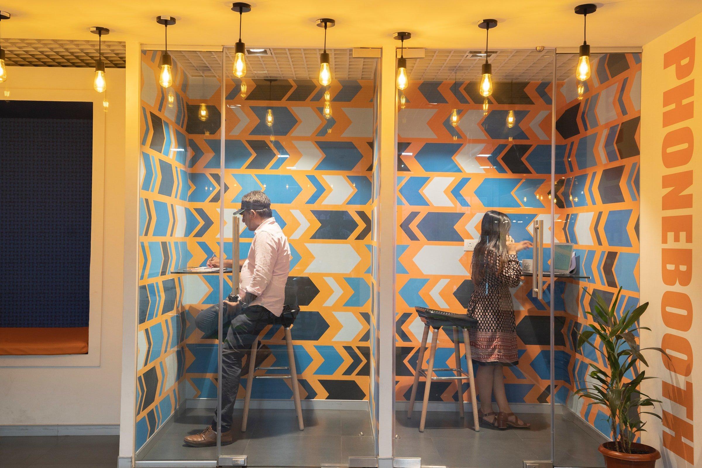 Création d'espaces de coworking par notre agence d'architecture commerciale Elégance au m2