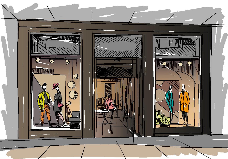 Nous conceptualisons votre agencement de magasin chez Elégance au m2