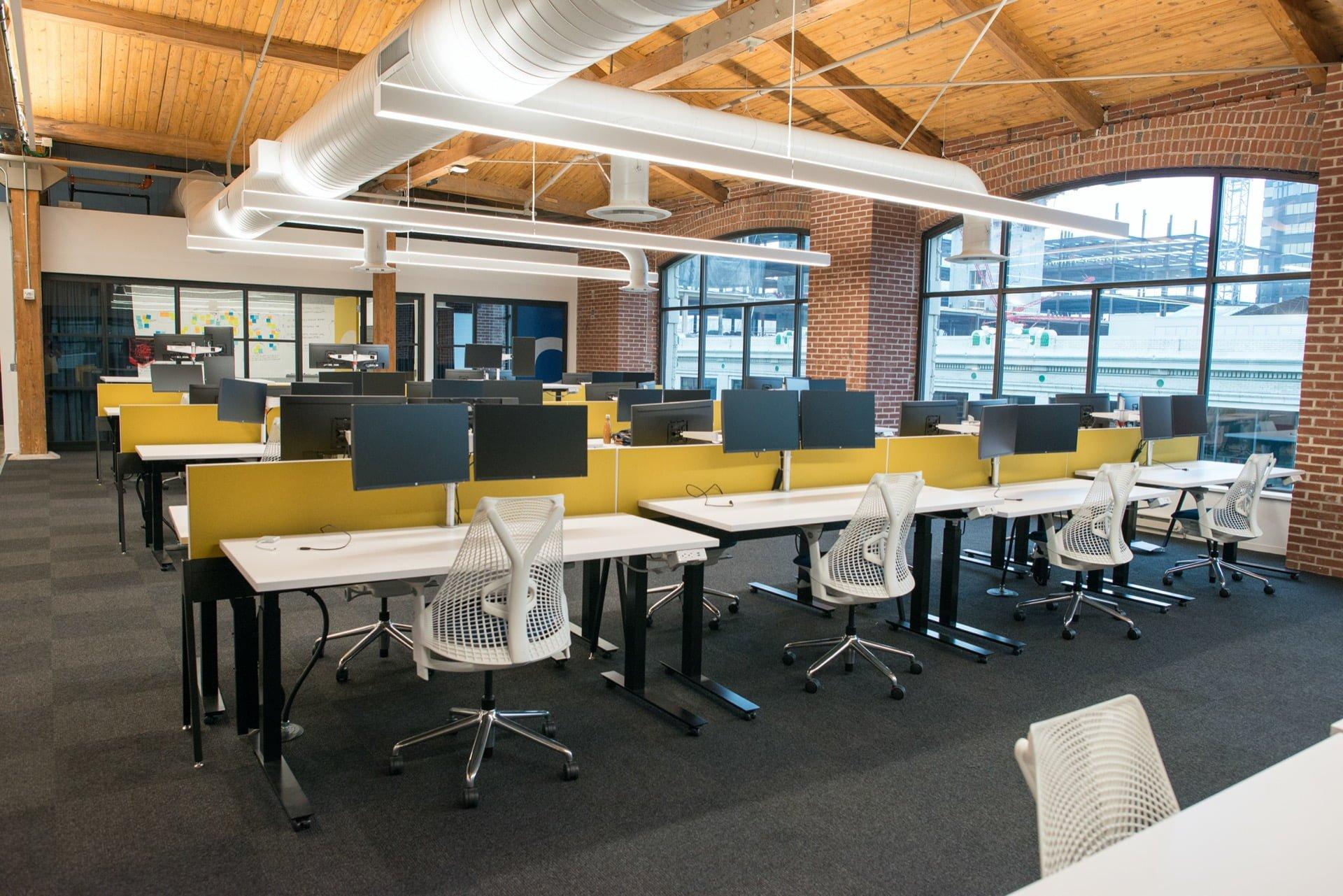 Aménagement de bureaux professionnels à Lyon
