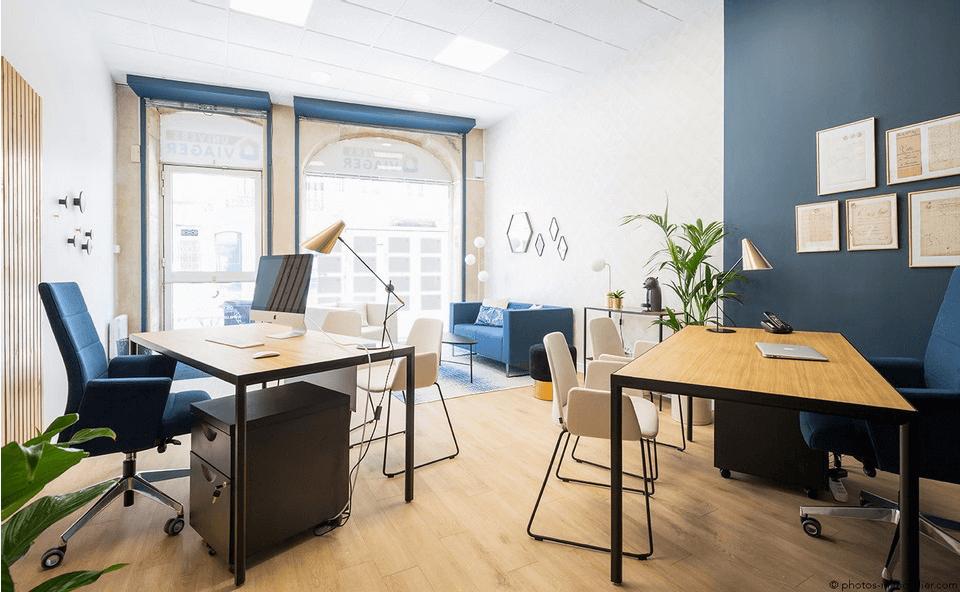 Aménagement de bureaux professionnels partout en France avec notre agence Elégance au m2