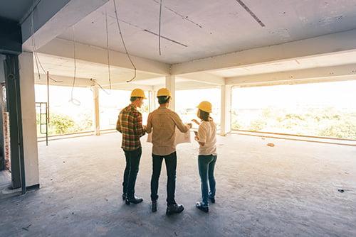 Suivi et réception de vos travaux d'aménagement par notre architecte d'intérieur Elégance au m2
