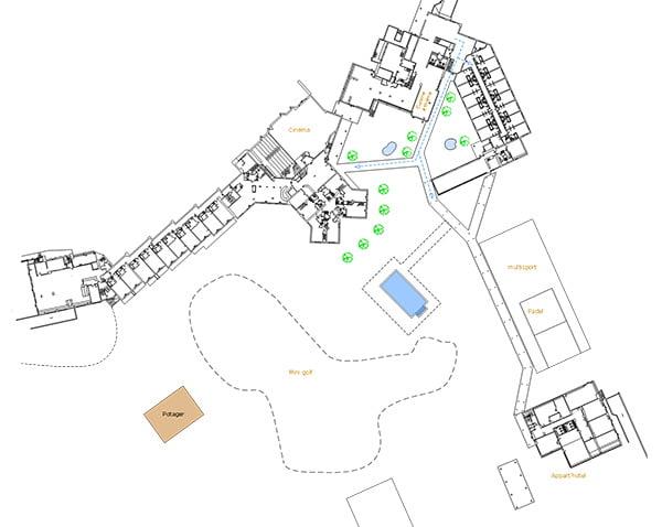 Dessin, croquis et plans 2D de votre futur aménagement intérieur avec Elégance au m2