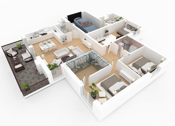 Avec Elégance au m2, choisissez votre mobilier lors de notre phase de conception de votre aménagement intérieur !