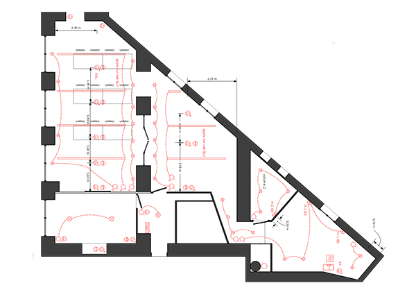 Nous réalisons chez Elégance au m2 les plans de vos de installations techniques pour votre futur aménagement intérieur.