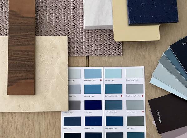 Choix des matériaux, des couleurs, du mobilier... tout ce qu'il faut pour votre aménagement intérieur avec Elégance au m2