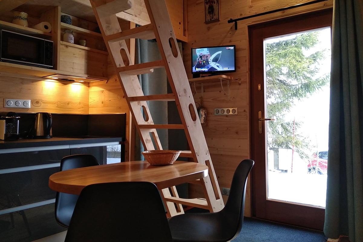 Aménagement d'une tiny house à Annecy par Elégance au m2