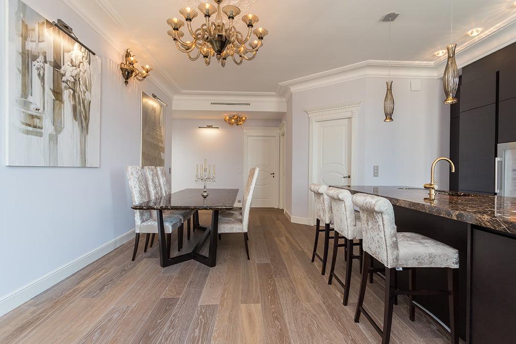 Aménagement d'une maison bourgeoise à Versailles par Elégance au m2