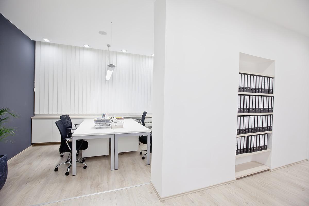 Bureaux professionnels modernes à Rennes grace à l'aménagement intérieur de notre architecte Elégance au m2